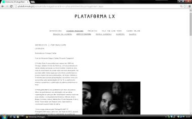 plataforma lx