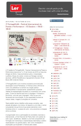 http://livrarialerdevagar.blogspot.fr/2016/10/3-portugalslam-festival-internacional.html