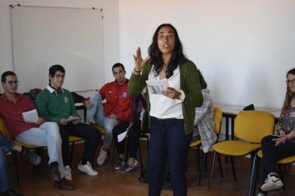 2017 | Workshop de Poetry Slam - 9º ao 11º anos da EBMB, Beja.